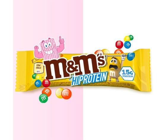 M m s hi protein bar e28