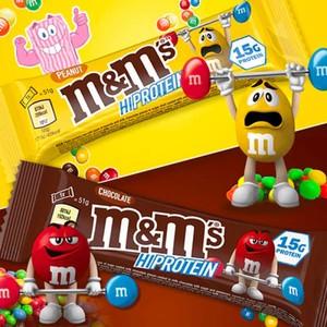 M&M's Hi Protein 12 BARRETTE da 51gr