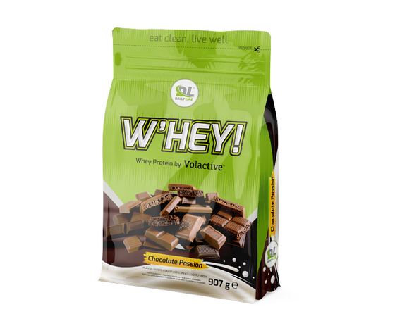 Whey protein chocolate passion