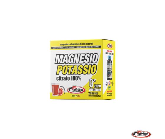 Magnesio e potassio 20 buste