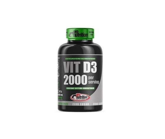 Pro nutrition vitamina d3 2000 ui 180 cpr