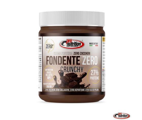 Fondente zero 350g cioccolato fondente crunchy