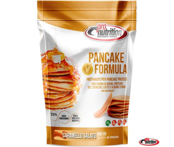 Pancake formula 800g caramello salato