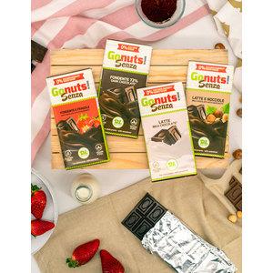 Tavolette di cioccolato senza zuccheri – Gonuts!