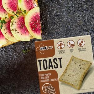 TOAST  Croccanti toast da 40 grammi