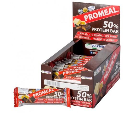 Promeal protein 50 sct. barrette proteiche web