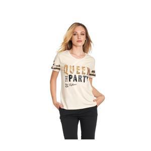 T-Shirt  Cafè Noir Stampa Queen