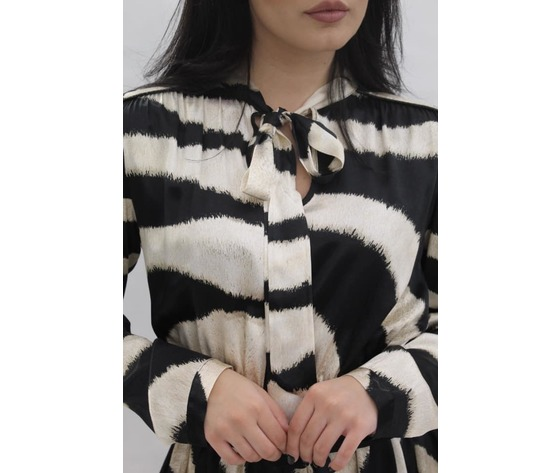 Abito zebrato 2