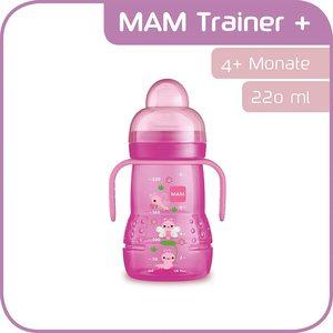 MAM BIBERON TRAINER  ANTI-GOCCIA 4+ 220ML  FEMMINUCCIA