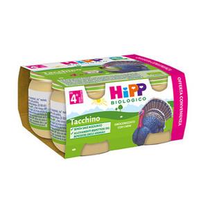 HIPP BIO OMOGENEIZZATO TACCHINO 4X80