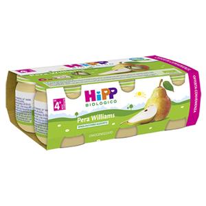HIPP BIO OMOGENEIZZATO PERA WILLIAMS 6X80