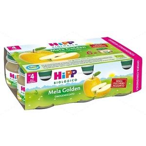 HIPP BIO OMOGENEIZZATO MELA GOLDEN 6X80