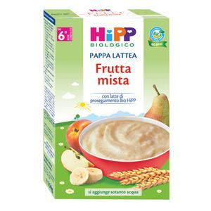 HIPP PAPPA LATTEA FRUTTA MISTA 250G