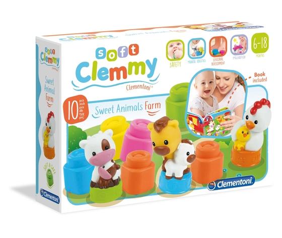 Clementoni clemmy sodkie zwierzaki farma zkdf5dj