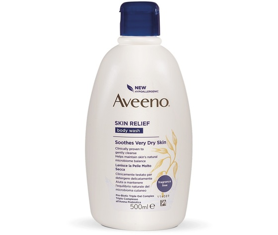 Aveeno skin body wash