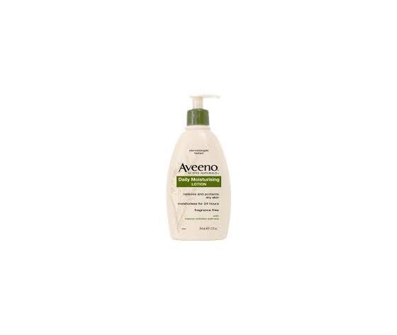 Aveeno daily lotion