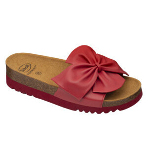 SCHOLL BOWI 2.0 LEATHER ROSSO