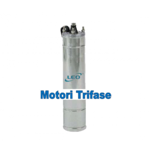 Motore trifase sommerso Leo KW 2,2 HP3 V380 mod.4M30T