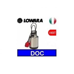 Elettropompa, Pompa sommergibile, Lowara DOC7T/A V380