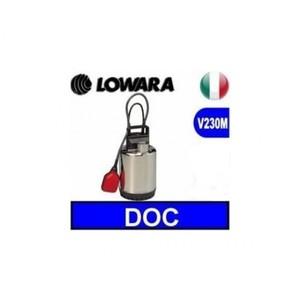 Elettropompa, Pompa sommergibile, Lowara DOC7 VX/A drenaggio e fognature
