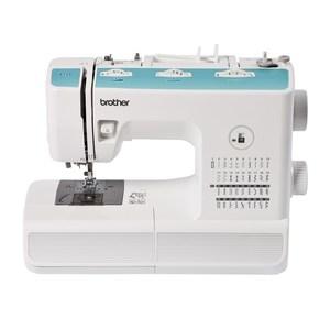 Brother XT27VP2 - Macchina da cucire meccanica, 25,80 x 37,50 x 48 cm, colore: Bianco/Blu