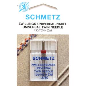 AGHI GEMELLI (TWIN) SCHMETZ | MISURA  1.6/80 | H ZWI |MACCHINE PER CUCIRE