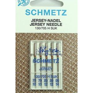 5 AGHI JERSEY SCHMETZ |  MISURA 90/14 |130/705H |MACCHINE PER CUCIRE