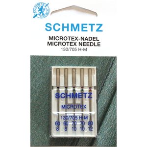 5 AGHI MICROTEX SCHMETZ | MISURA  60/80| 130/705H |MACCHINE PER CUCIRE