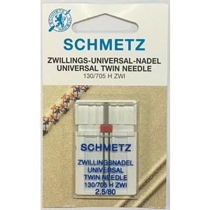 5 AGHI GEMELLI (TWIN) SCHMETZ | MISURA 2.5/80 | 130/705 H-S ZWI |MACCHINE PER CUCIRE