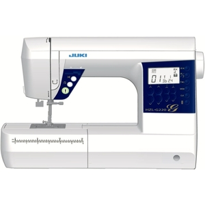 JUKI hzl-355zw macchina da cucire meccanica metallo/PVC Bianco 41 x 17,7 x 30,8 cm