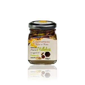 Miele Millefiori con pistacchio di Bronte DOP 125 gr