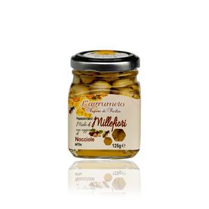 Miele Millefiori con nocciola dell'Etna 125 gr