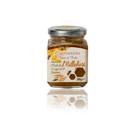 Zenzero 250 gr miele agrumeto etichetta