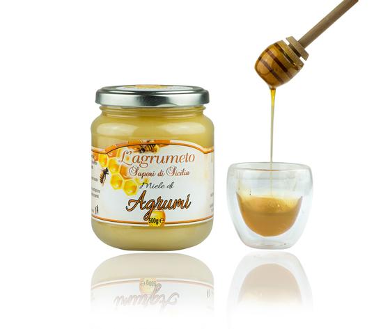 Agrumi 500 g miele aperto agrumeto 48