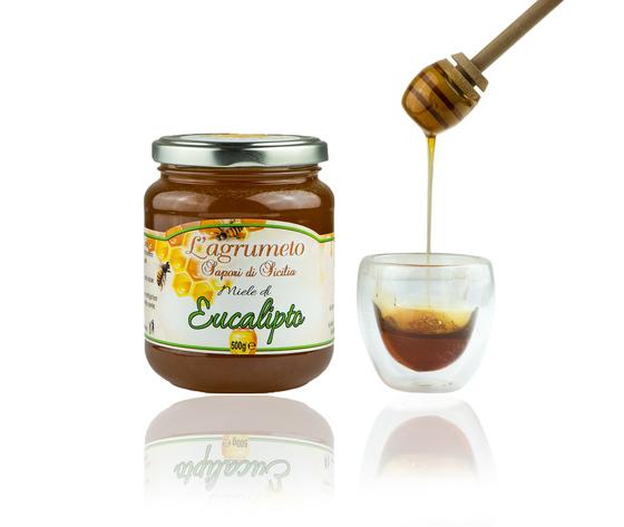 Eucalipto 500 g miele aperto agrumeto  3