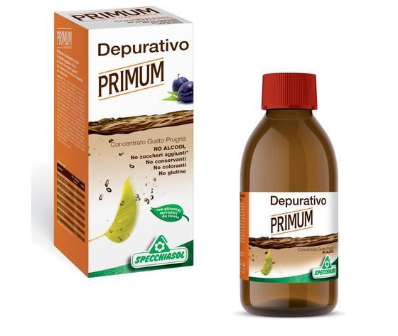 Primum depurativo no alcool
