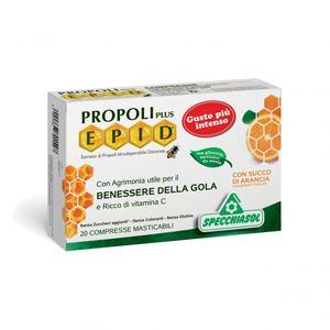 Propoli plus Epid Arancia 20 Compresse Masticabili
