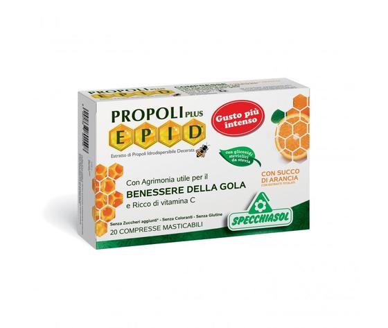 Epid compresse arancio