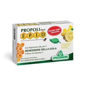 Propoli Plus Epid Miele Limone 20 Compresse Masticabili