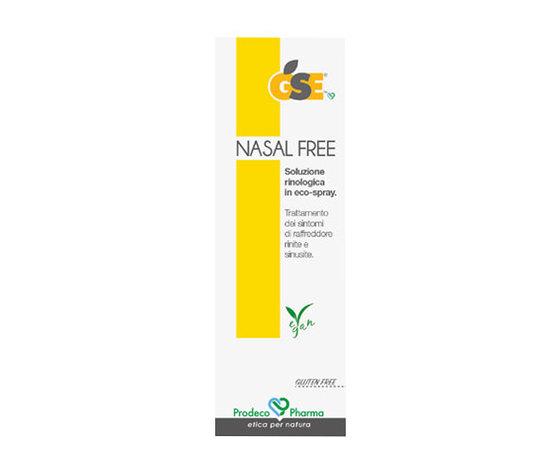 Gse nasal free prodotto per sinusite