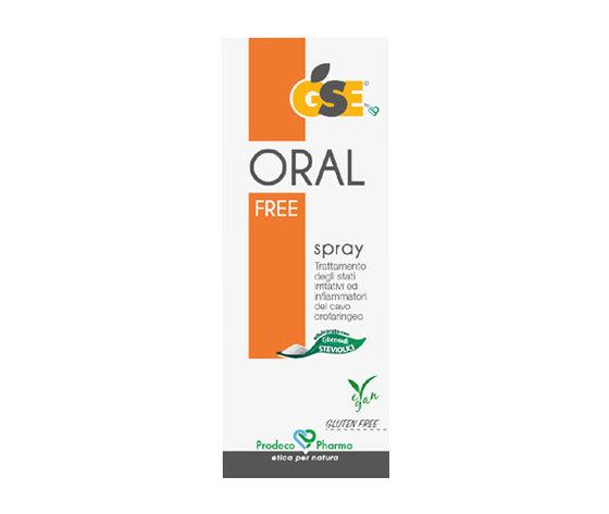 Gse oral free spray gola naturale