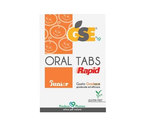 Gse oral tabs rapid junior prodotto naturale per mal di gola bambini