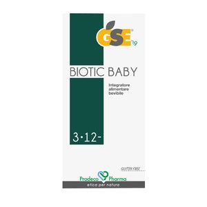 Gse Biotic Baby 3-12 Sciroppo 250ml
