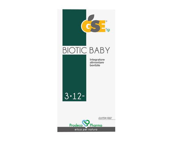 Gse biotic baby integratore alimentare antibiotico naturale