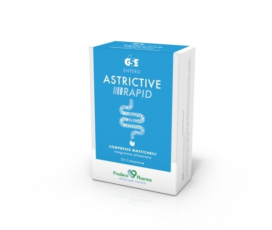 Gse astrictive rapid masticabile