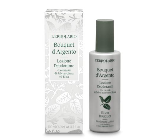 L'erbolario bouquet d'argento lozione deodorante 100ml