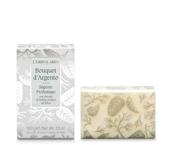 L'erbolario bouquet d'argento sapone profumato 100gr