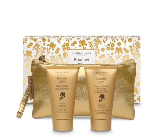 L'erbolario bouquet d'oro beauty pochette 2x75ml