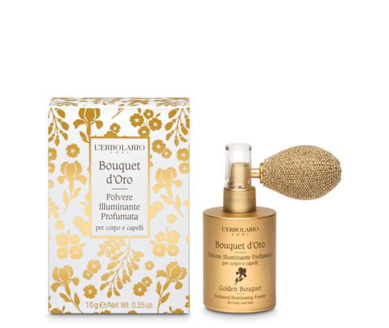 L'erbolario bouquet d'oro polvere illuminante profumata 10gr