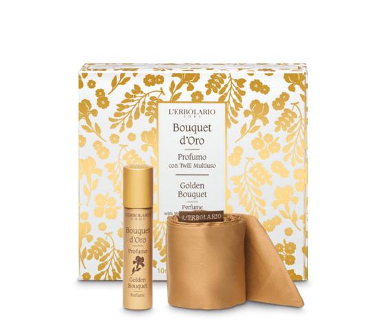 L'erbolario bouquet d'oro profumo con twill multiuso 10ml
